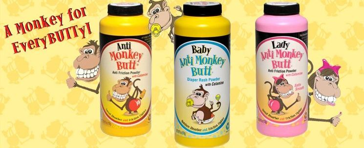 anti monkey butt powder products