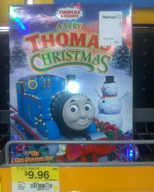 a very thomas christmas dvd