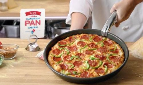 domino's handmade pan pizza
