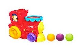 playskool pop n go express