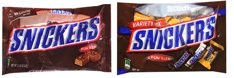 snickers candy