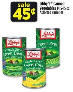Libby's Canned Vegetables