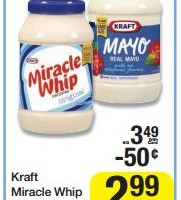 Kraft Miracle Whip or Mayo
