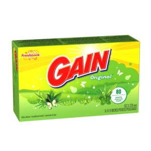 Gain Fabric Softener Sheets