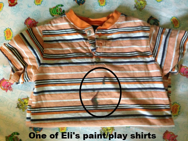 eli's paint and play shirt