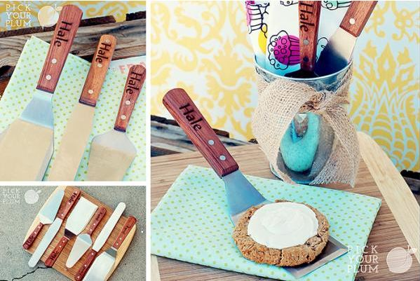 personalized spatulas