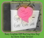 Save some Green Everyday Effects P&G Challenge