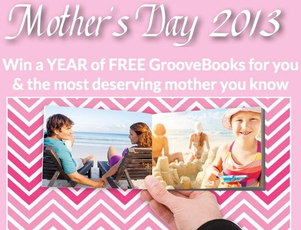 GrooveBook Mothers Day Giveaway