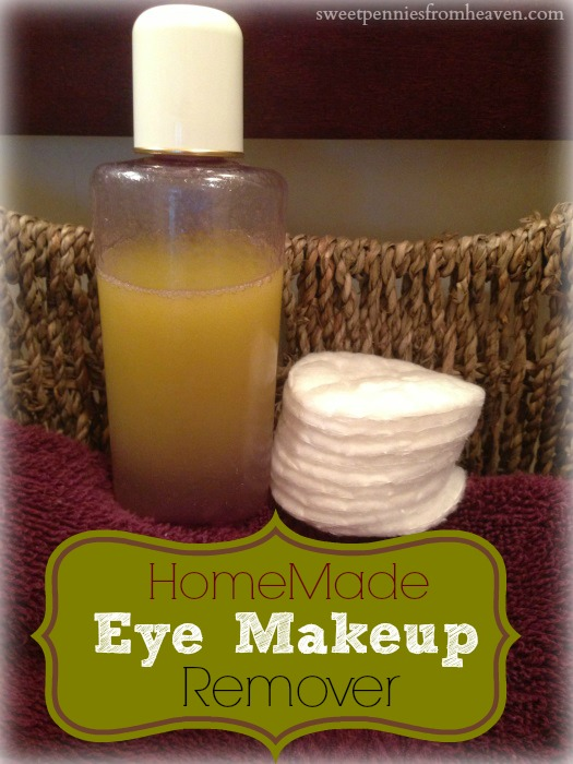 Homemade Eye Makeup Remover Only 2 Ingredients