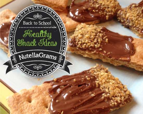 Nutella Back to School Snacks