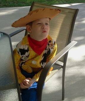 Sheriff Woody Costume 2