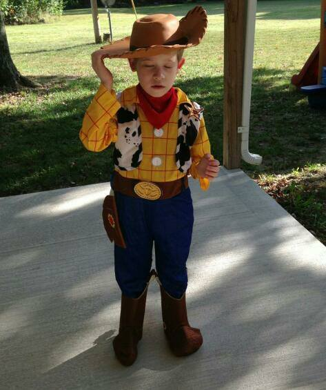 Sheriff Woody Costume