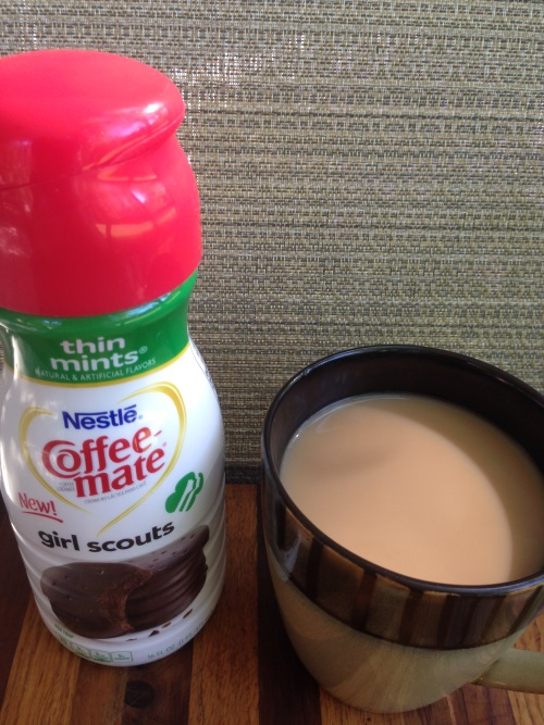 Girl Scout Cookie Coffee-mate Creamer