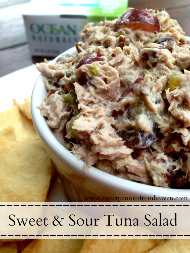 Sweet and Sour Tuna Salad