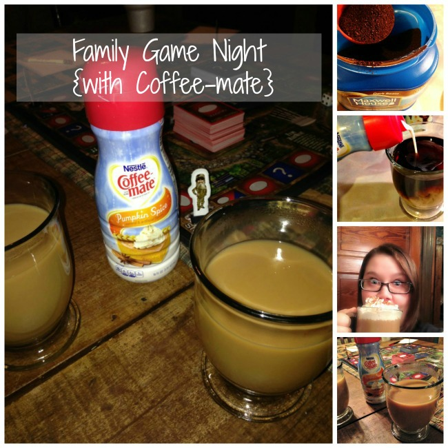Family Game Night and Pumpkin Spice Latte #shop