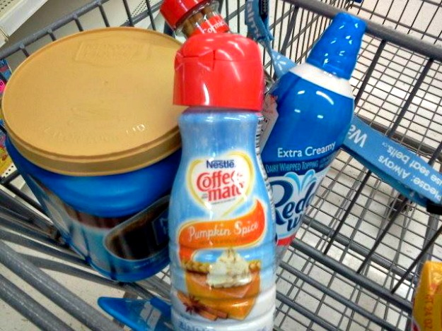 Pumpkin Spice Latte ingredients #shop