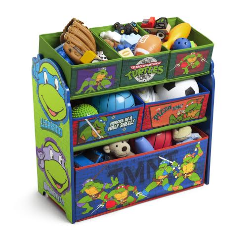 Good Teenage Mutant Ninja Turtle Toy Bin priced around on Amazon Princess Sofia Bed