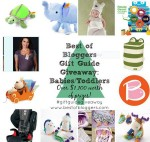 babies and toddlers gift guide