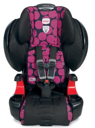 britax car seat pink flowers