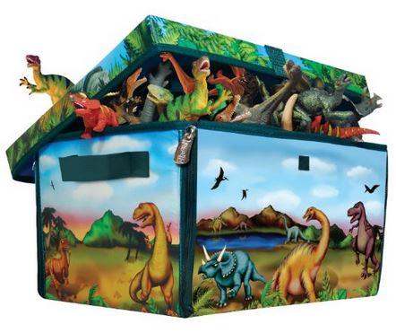 neat-oh dinosaur zipbin toy storage
