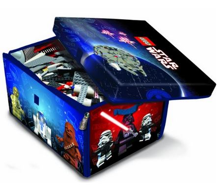 neat oh lego star wars toy storage box