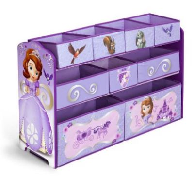 princess sofia toy bin