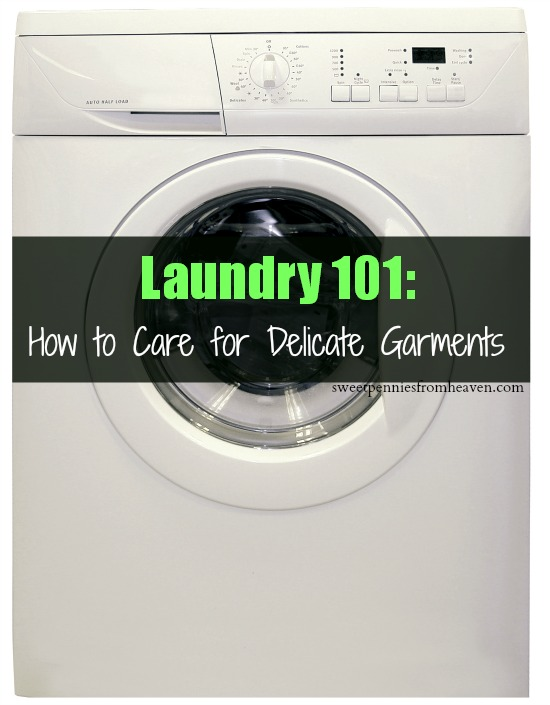 caring for delicate garments