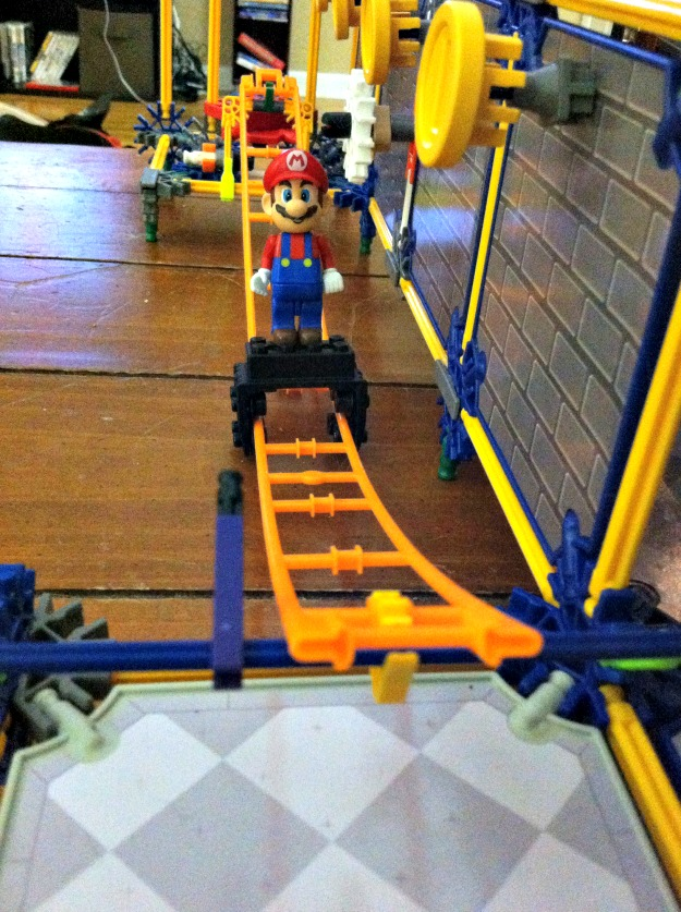 K'nex Super Mario Bowser's Castle