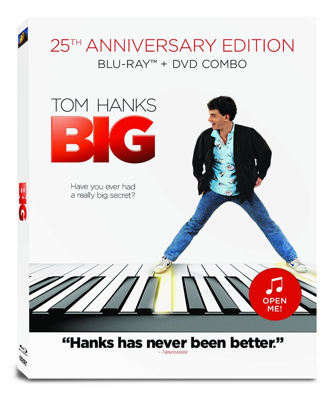 Tom Hanks Big 25th Anniversary DVD