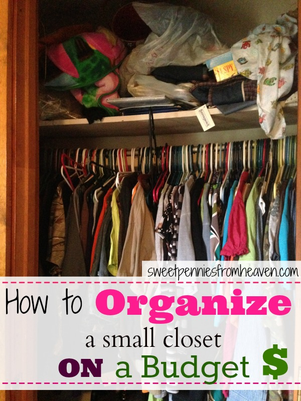 Closet organization tips including closet storage ideas for How to organize your small bedroom closet