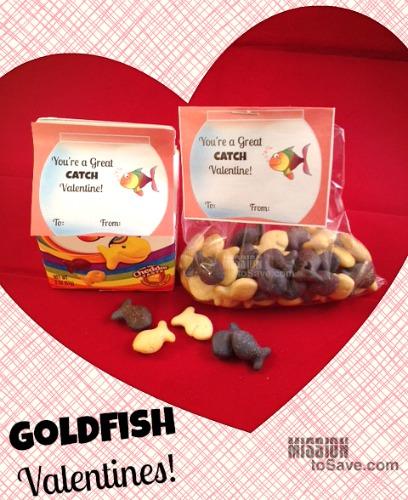 Goldfish-Valentines