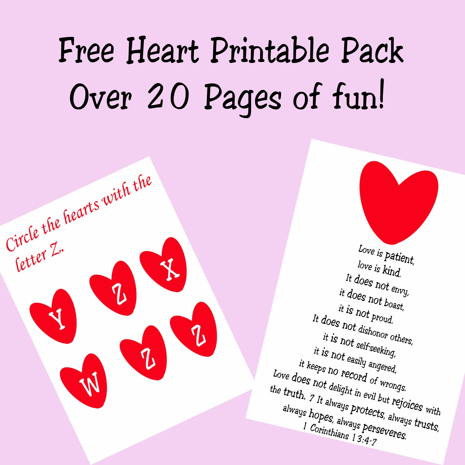 Lots of Free Valentine Printables - Cards, Treat Toppers, Crafts