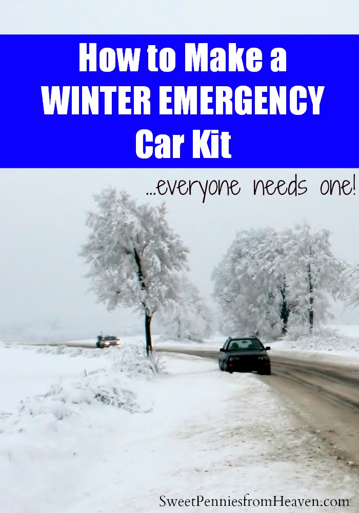 Winter Emergency Survival Kit for Cars