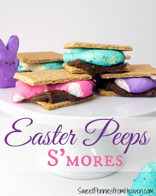 Easter Peeps S'Mores – Includes Gluten Free Options