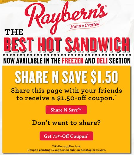 raybern's coupon