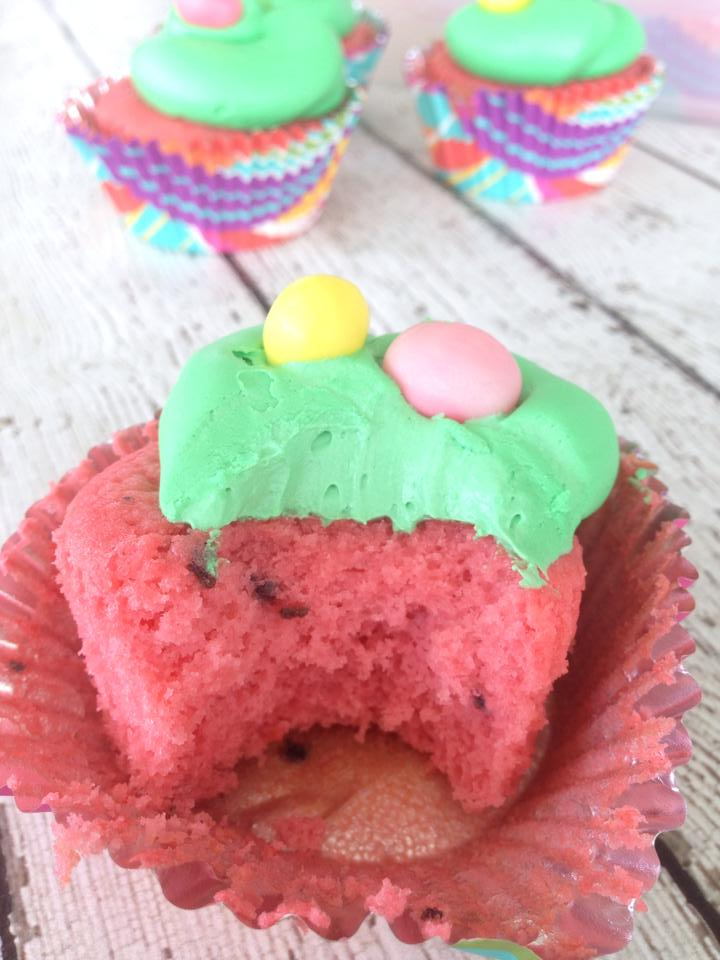 Watermelon Cupcakes - Attempt Two (This Time With Jelly ...