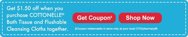 Cottonelle Coupons at CVS