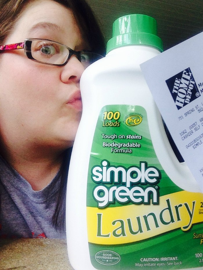 #SimpleGreenSelfie #SimpleGreen Laundry Tips