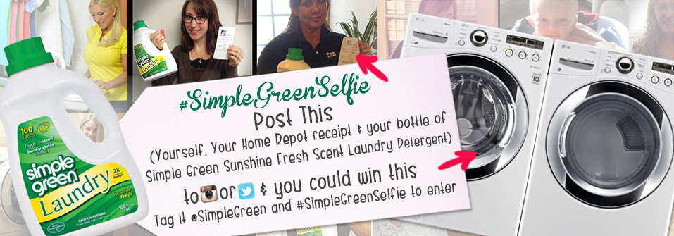 #SimpleGreenSelfie photo contest
