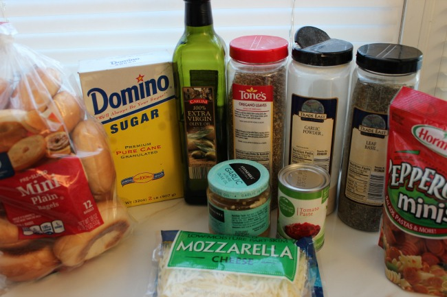 mini pizza snackers ingredients