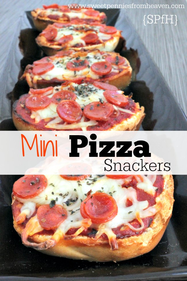 Mini Pizza Snackers