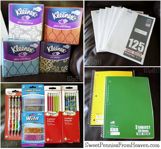 Back to School with Dollar General Collage