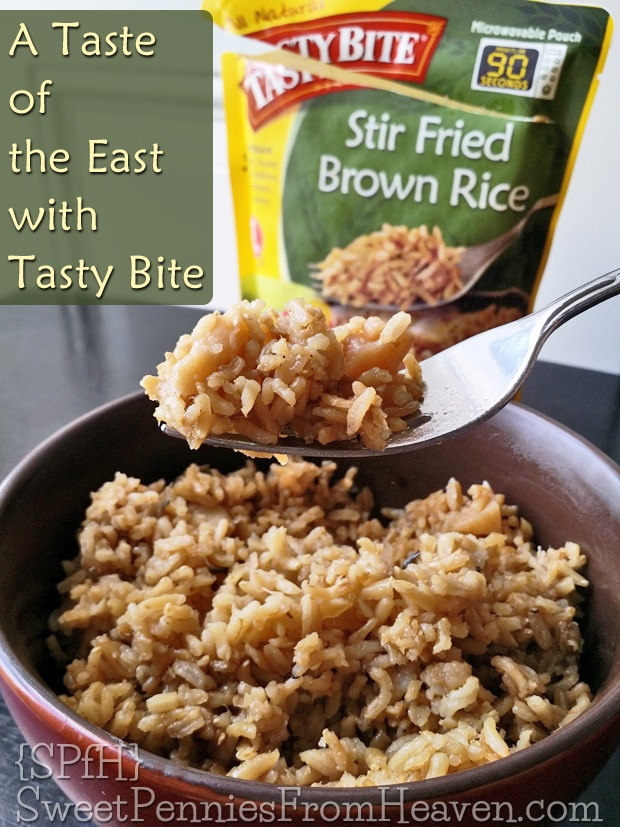 Tasty Bite Stir Fried Brown Rice #TastyBite