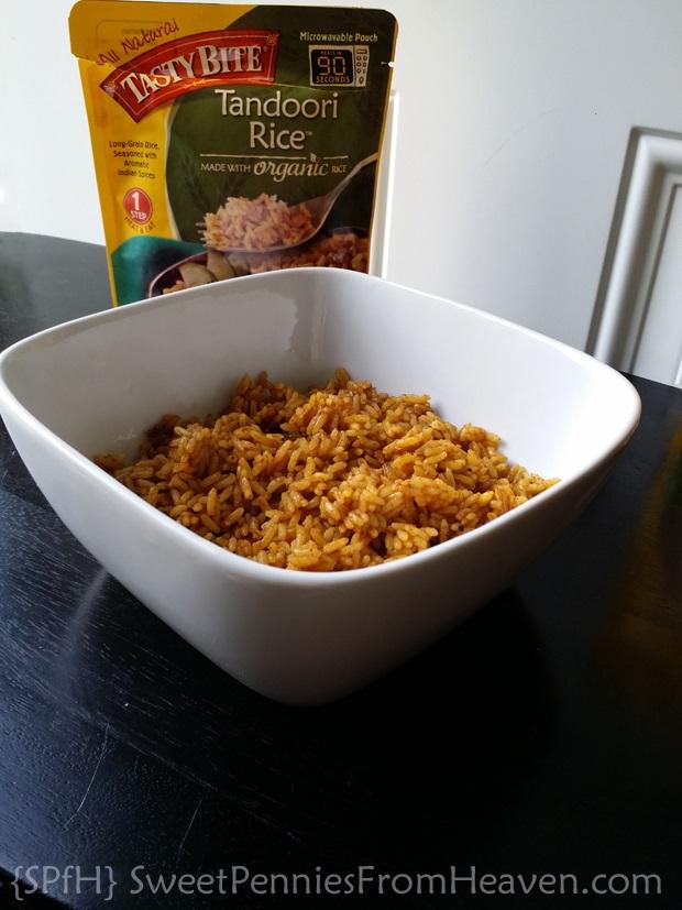 Tasty Bite Tandoori Rice #TastyBite