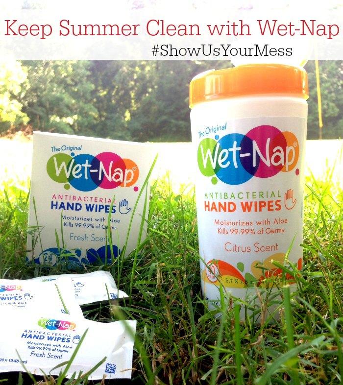 Wet-Nap-Wipes #ShowUsYourMess