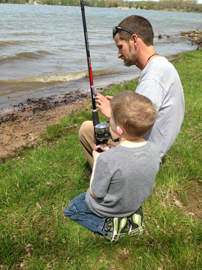 dale and eli fishing