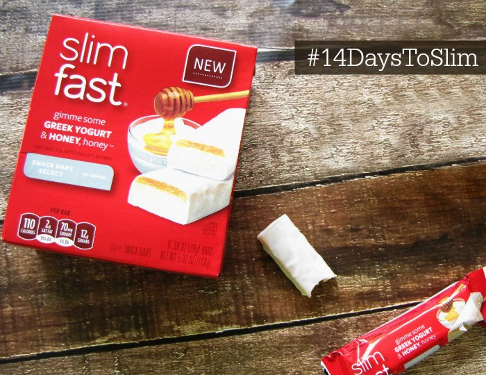 Slimfast Greek Yogurt and Honey Bars #14DaystoSlim