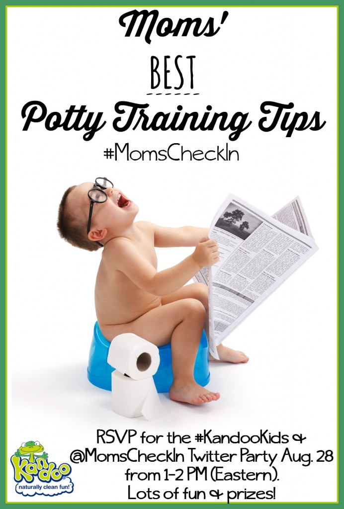 Potty Training Tips #KandooKids