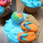 Summer Treats - Beach Fun Cupcakes