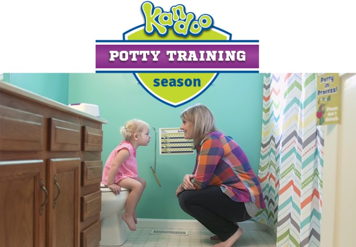 #KandooKids potty training season